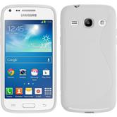 Silicone Case for Samsung Galaxy Core Plus S-Style white