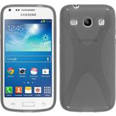 Silicone Case for Samsung Galaxy Core Plus X-Style gray