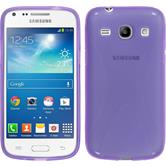 Silicone Case for Samsung Galaxy Core Plus X-Style purple