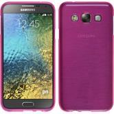 Silikon Hülle Galaxy E5 brushed pink