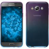 Silikon Hülle Galaxy E5 Ombrè Design:04 + 2 Schutzfolien