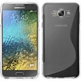 Silikonhülle für Samsung Galaxy E7 S-Style clear