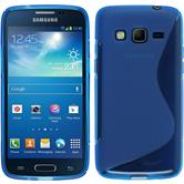 Silicone Case for Samsung Galaxy Express 2 S-Style blue