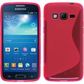 Silicone Case for Samsung Galaxy Express 2 S-Style hot pink