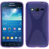 Silicone Case for Samsung Galaxy Express 2 X-Style purple