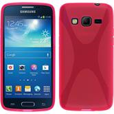 Silicone Case for Samsung Galaxy Express 2 X-Style hot pink