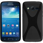 Silicone Case for Samsung Galaxy Express 2 X-Style black