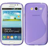 Silicone Case for Samsung Galaxy Grand S-Style purple