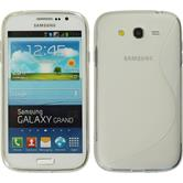 Silicone Case for Samsung Galaxy Grand S-Style transparent