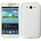 Silicone Case for Samsung Galaxy Grand S-Style white