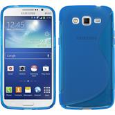 Silicone Case for Samsung Galaxy Grand 2 S-Style blue