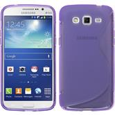 Silicone Case for Samsung Galaxy Grand 2 S-Style purple