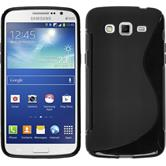 Silicone Case for Samsung Galaxy Grand 2 S-Style black