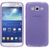 Silicone Case for Samsung Galaxy Grand 2 transparent purple