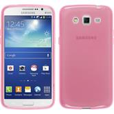 Silicone Case for Samsung Galaxy Grand 2 transparent pink