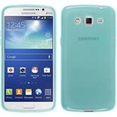 Silicone Case for Samsung Galaxy Grand 2 transparent turquoise