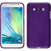 Silicone Case for Samsung Galaxy Grand 3 brushed purple