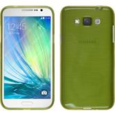 Silicone Case for Samsung Galaxy Grand 3 brushed pastel green