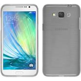 Silicone Case for Samsung Galaxy Grand 3 brushed white