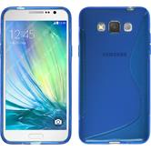 Silicone Case for Samsung Galaxy Grand 3 S-Style blue