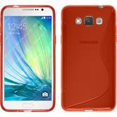 Silicone Case for Samsung Galaxy Grand 3 S-Style red