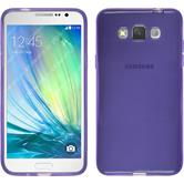 Silicone Case for Samsung Galaxy Grand 3 transparent purple