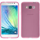 Silicone Case for Samsung Galaxy Grand 3 transparent pink