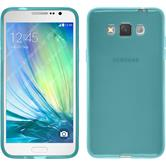 Silicone Case for Samsung Galaxy Grand 3 transparent turquoise