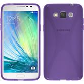 Silicone Case for Samsung Galaxy Grand 3 X-Style purple