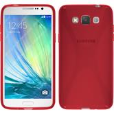 Silicone Case for Samsung Galaxy Grand 3 X-Style red