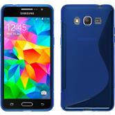 Silikon Hülle Galaxy Grand Prime S-Style blau