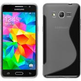 Silikonhülle für Samsung Galaxy Grand Prime S-Style clear