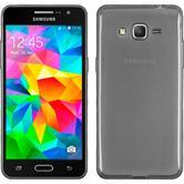 Silikon Hülle Galaxy Grand Prime Slimcase clear + 2 Schutzfolien