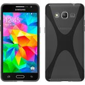 Silikonhülle für Samsung Galaxy Grand Prime X-Style grau