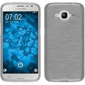 Silikon Hülle Galaxy J2 (2016) (J210) brushed weiß Case
