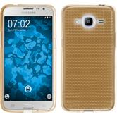 Silikon Hülle Galaxy J2 (2016) (J210) Iced gold Case