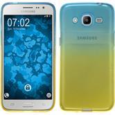 Silikonhülle für Samsung Galaxy J2 (2016) Ombrè Design:02
