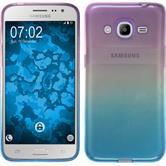 Silikon Hülle Galaxy J2 (2016) (J210) Ombrè Design:04 Case