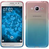 Silikon Hülle Galaxy J2 (2016) (J210) Ombrè Design:06 Case
