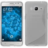 Silikon Hülle Galaxy J2 (2016) (J210) S-Style clear Case