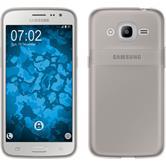 Silikon Hülle Galaxy J2 (2016) (J210) Slimcase grau