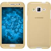 Silikon Hülle Galaxy J2 360° Fullbody gold