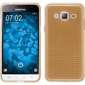 Silikon Hülle Galaxy J3 (2016) Iced gold