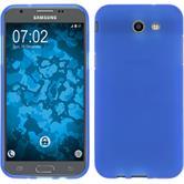 Silikon Hülle Galaxy J3 Emerge matt blau Case