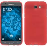 Silikon Hülle Galaxy J3 Emerge matt rot Case