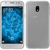 Silikon Hülle Galaxy J3 2017 Slimcase clear + 2 Schutzfolien
