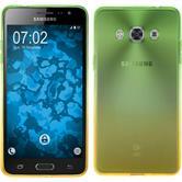 Silikon Hülle Galaxy J3 Pro Ombrè Design:03 + 2 Schutzfolien