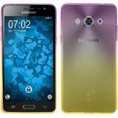 Silikon Hülle Galaxy J3 Pro Ombrè Design:05 + 2 Schutzfolien