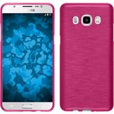 Silikon Hülle Galaxy J5 (2016) J510 brushed pink