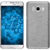 Silikon Hülle Galaxy J5 (2016) J510 brushed weiß